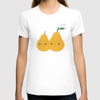 pear T-shirts featuring We make a nice pear by UiNi