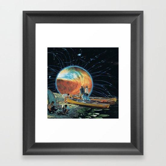 black hole... Framed Art Print