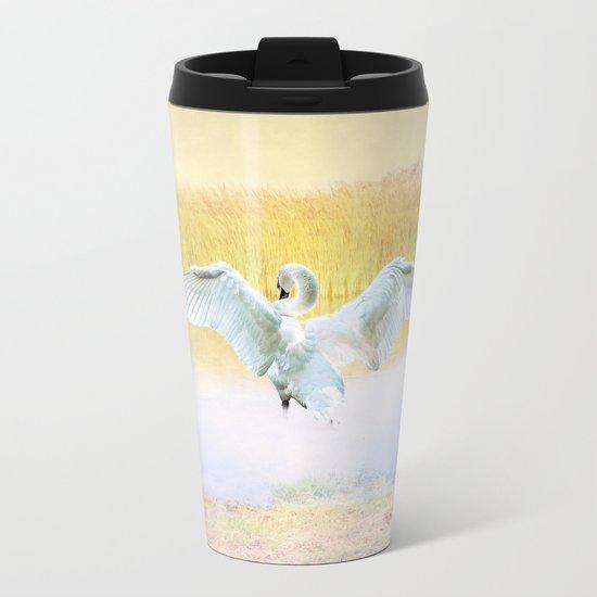 The Swan Metal Travel Mug