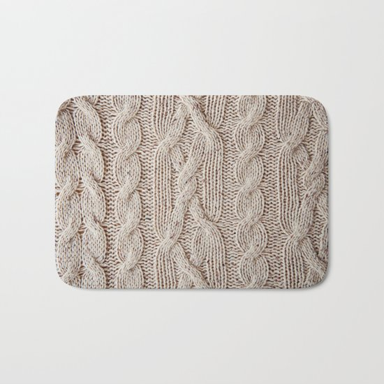 sweater Bath Mat