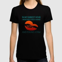 FOUND A PAW T-shirt