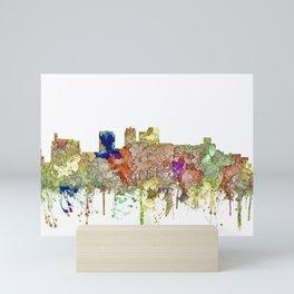 Birmingham, Alabama Skyline SG - Faded Glory Mini Art Print
