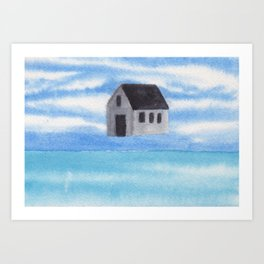 Sky House Art Print