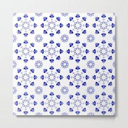 blue morrocan dream no2 Metal Print