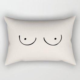 Boobs Rectangular Pillow
