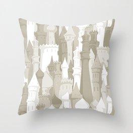 Sandcastles Throw Pillow