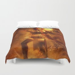 Witch Tower Duvet Cover