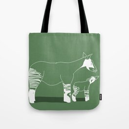 Okapi for Elly Tote Bag
