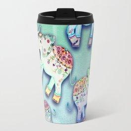 ELEPHANT PARTY MINT Travel Mug