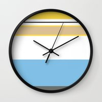 homer Wall Clocks featuring Essential Homer by Jake Bjeldanes