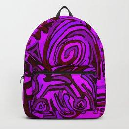 Magenta symbols Backpack