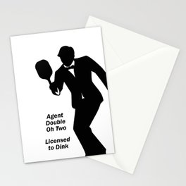 Agent 002 - Licensed to Dink Stationery Cards