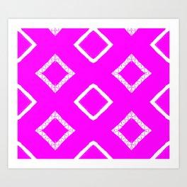 Jairus Pink Art Print