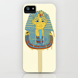 Tutankhamun's ice cream  iPhone Case