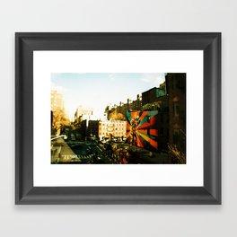 Uncolor My Life Framed Art Print
