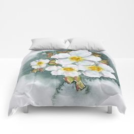 Watercolour Wildflower Comforters
