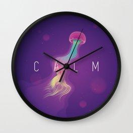 C A L M Wall Clock