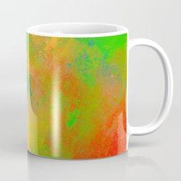 Taste The Rainbow - Multi coloured, abstract, textured painting Coffee Mug