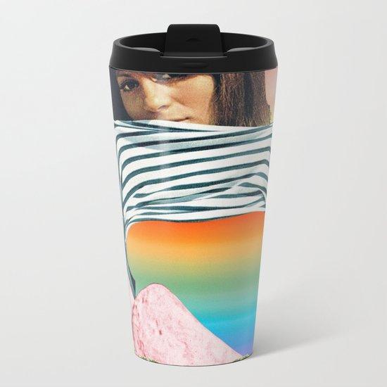 Internal Rainbow II Metal Travel Mug