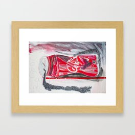 Homage to cola Framed Art Print