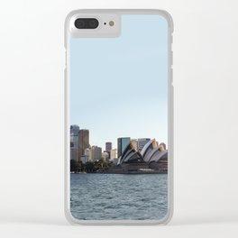 Sunrise Sydney Clear iPhone Case