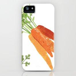 Carrot Illustration iPhone Case