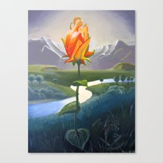 Flower Lovers Canvas Print
