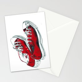 'Lucky and Luna' Sneakers Stationery Cards