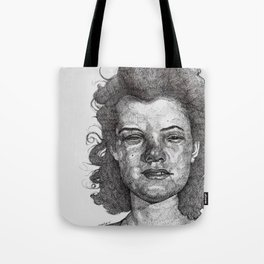 Roxy Renegade Queen of the Roller Derby Tote Bag