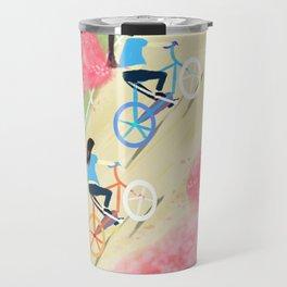 Ride Bike Students Travel Mug
