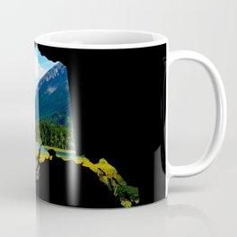 Alaska Outline - God's_Country Coffee Mug