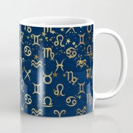 Twelve Zodiac Signs Horoscope Pattern Coffee Mug