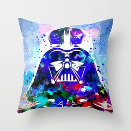 Darth Vader  SW Painting Throw Pillow
