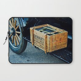 Whiskey box on a vintage car side board Laptop Sleeve