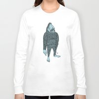bigfoot Long Sleeve T-shirts featuring Bigfoot by Mason W