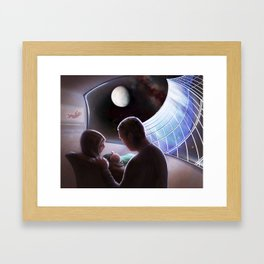 Pioneers of the Cosmos Framed Art Print