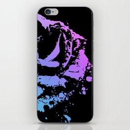 Splattered Rose iPhone Skin
