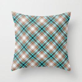 Scottish tartan #17 Throw Pillow