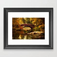 The Gapstow Bridge Framed Art Print