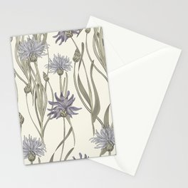 vintage cornflowers Stationery Cards