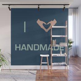 I heart Handmade Wall Mural
