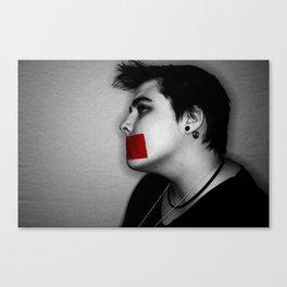 Silence. Sarah.  Canvas Print