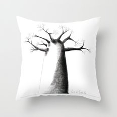 Baobab Throw Pillow