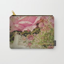 Teacups and Roses 2 Carry-All Pouch