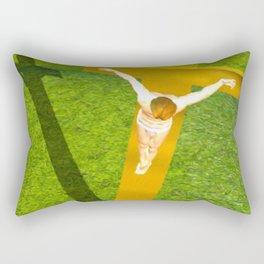 Shadow of The Christ Rectangular Pillow