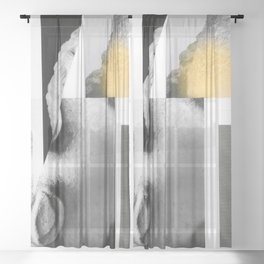 Composition 789 Sheer Curtain