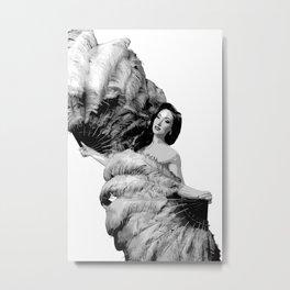 Feather Dancer Metal Print