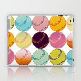 Pop Art Baseballs Laptop & iPad Skin