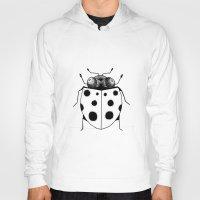 ladybug Hoodies featuring Ladybug by Brittany Rae
