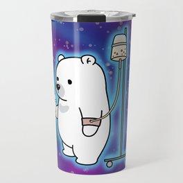 Bubble Tea Space Bear Travel Mug